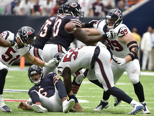 Bears-Texans Recap: Bears exceed expectations but fall short