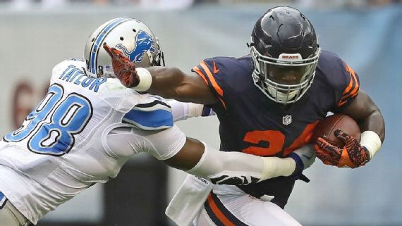 Jordan Howard flashes potential — and shades of Matt Forte