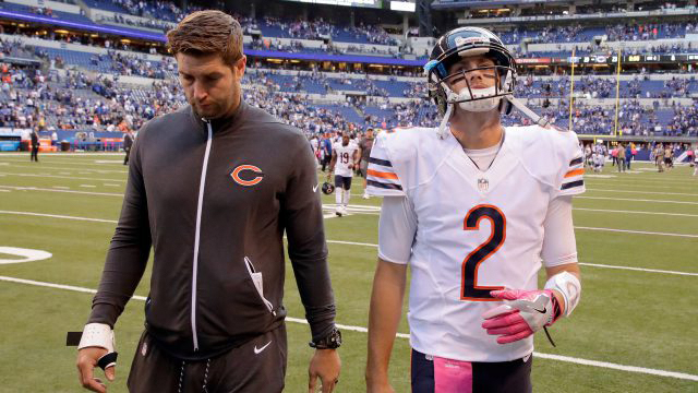 'Jay Cutler or Brian Hoyer' quarterback controversy answer is clear
