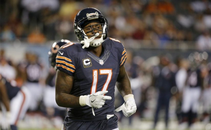 Alshon Jeffery's suspension is Bears' long-term gain