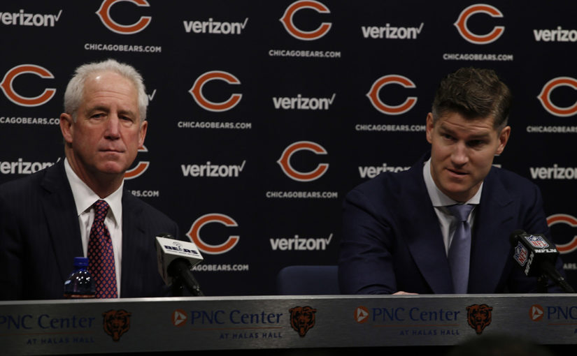 Ryan Pace and John Fox season-ending joint press conference