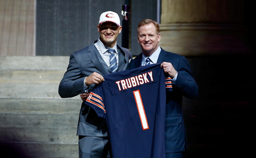 Bears sign first-round draft pick, quarterback Mitch Trubisky