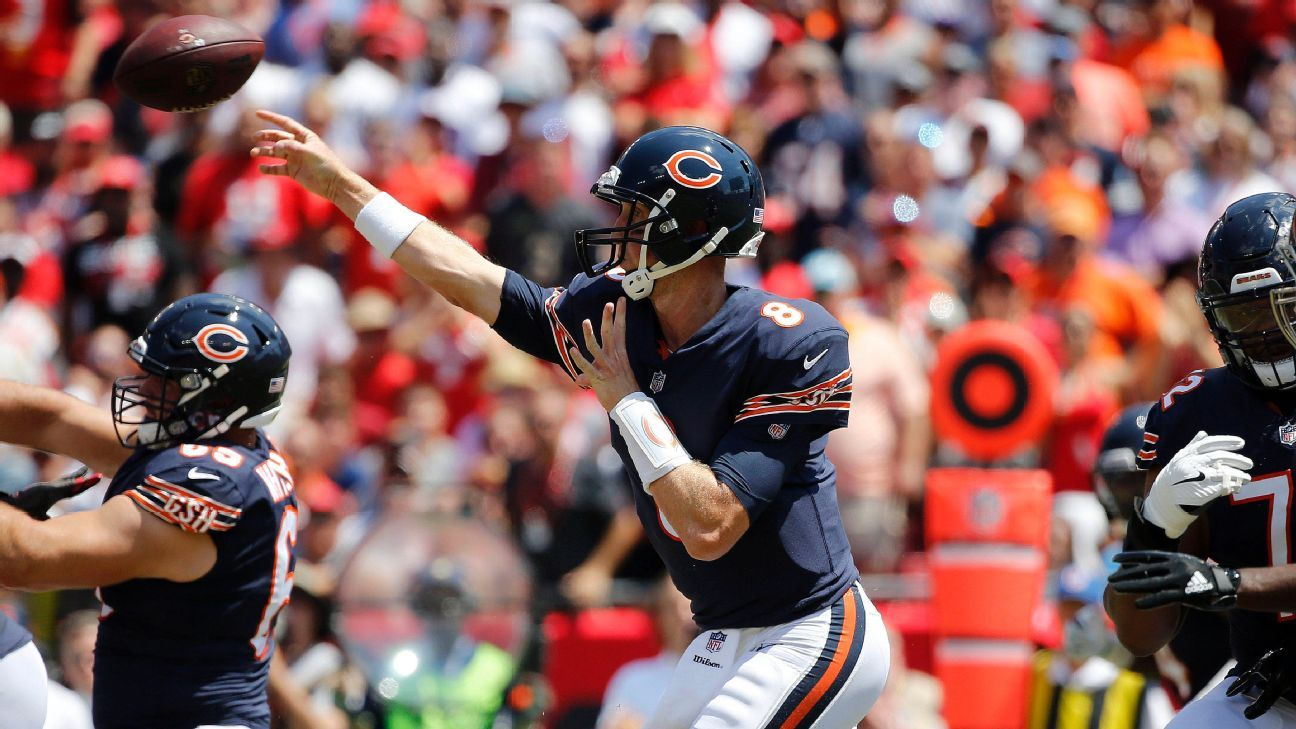 Bears fumble, throw away game to Buccaneers, 29-7