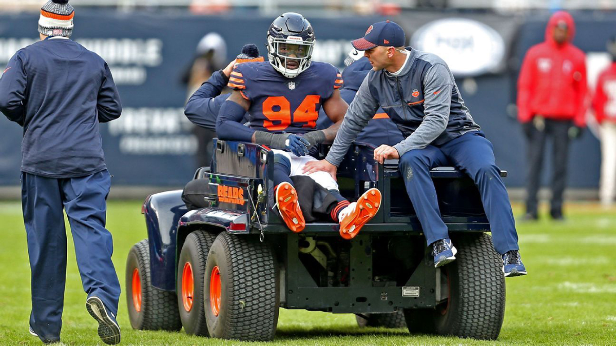 Leonard Floyd knee injury a short detour to Bears' long-term plans
