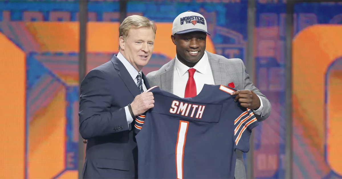 2018 NFL Draft: Bears select Georgia LB Roquan Smith 8th overall