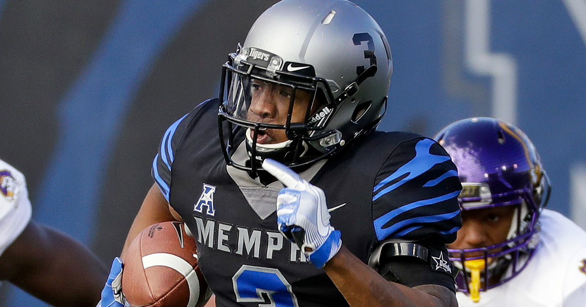 2018 NFL Draft: Bears select Memphis WR Anthony Miller in Round 2