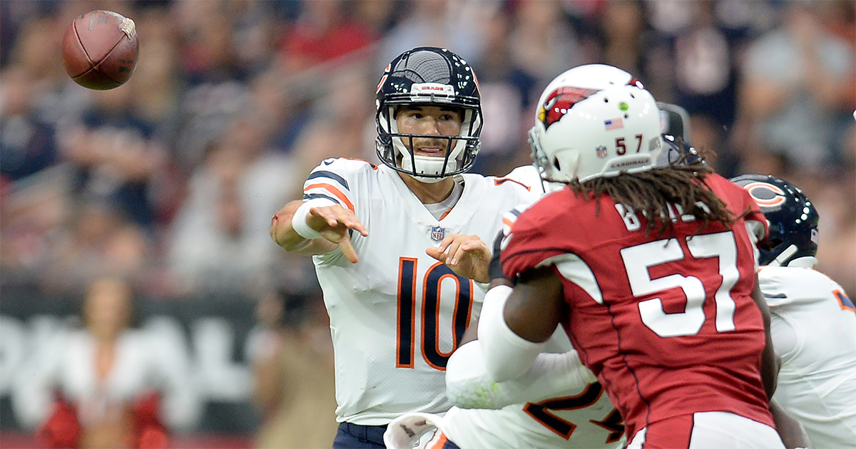Bears defense casting thicker lens over Mitch Trubisky's development
