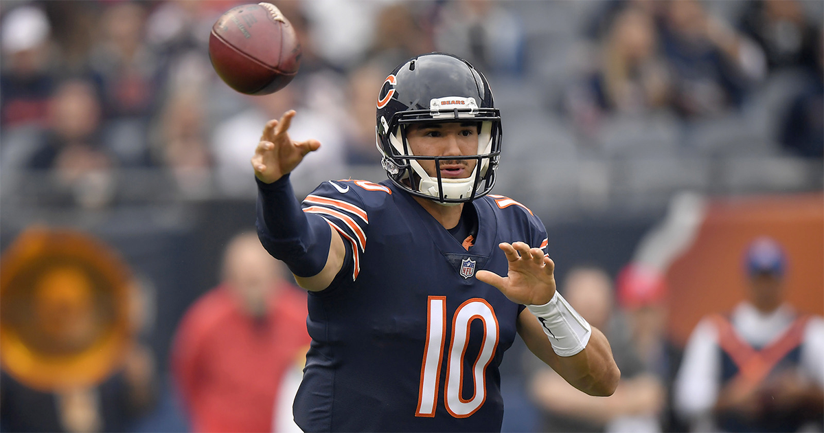 Mitch Trubisky tosses 6 TDs as Buccaneers walk the plank