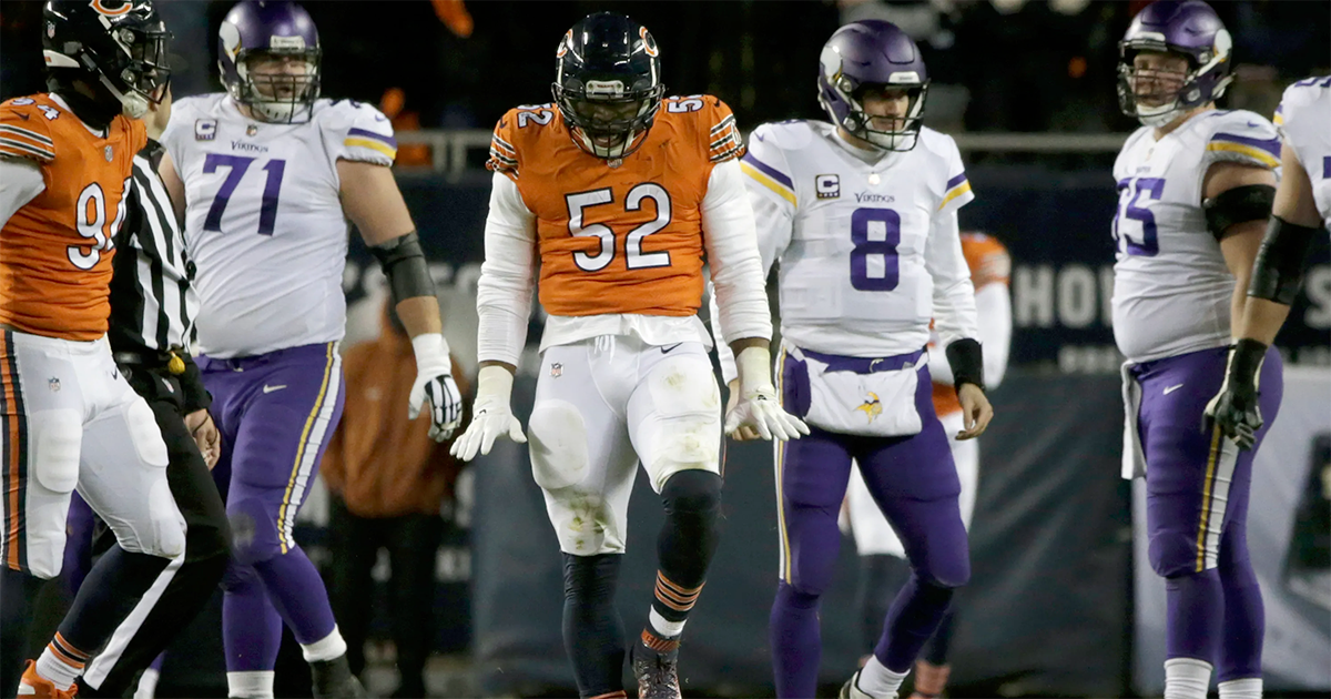'You like that?' Bears beat Vikings, maintain lead in NFC North