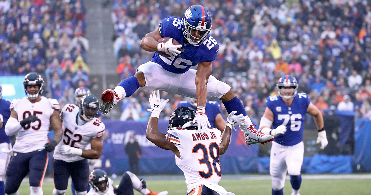 Giants trip up Bears, snap Chicago's five-game win streak
