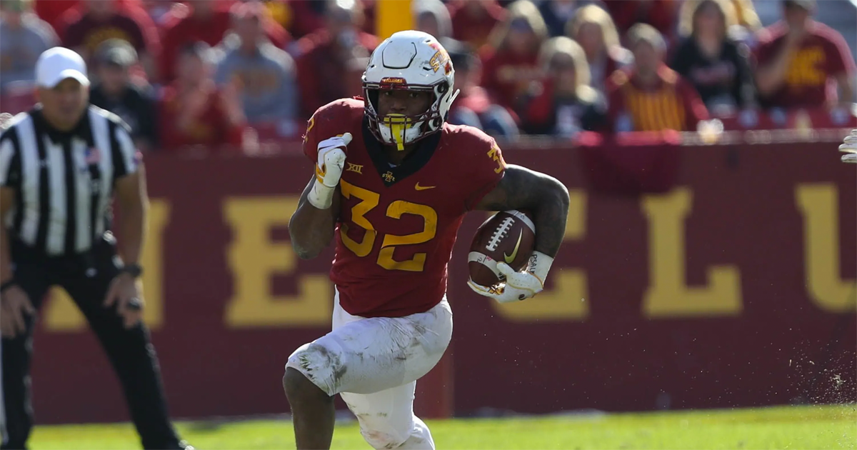 Bears select Iowa State RB David Montgomery in third round of 2019 NFL Draft