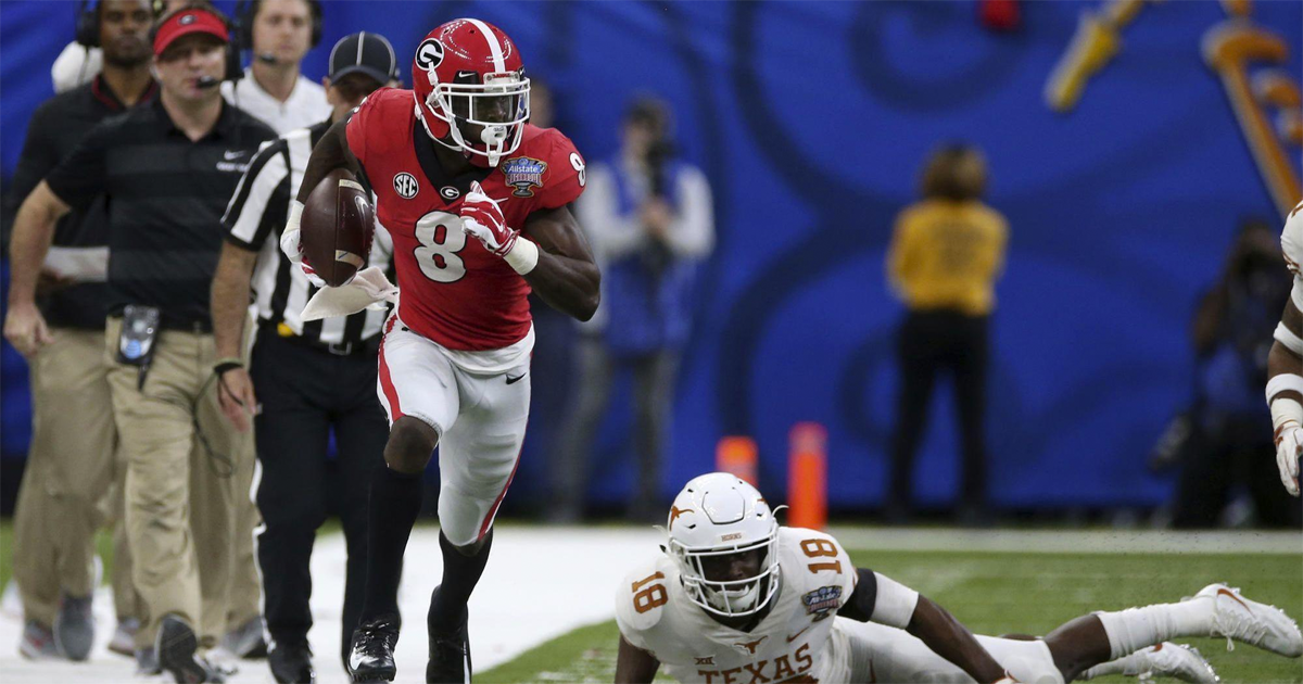 WR Riley Ridley another tool added to Matt Nagy's bag of tricks