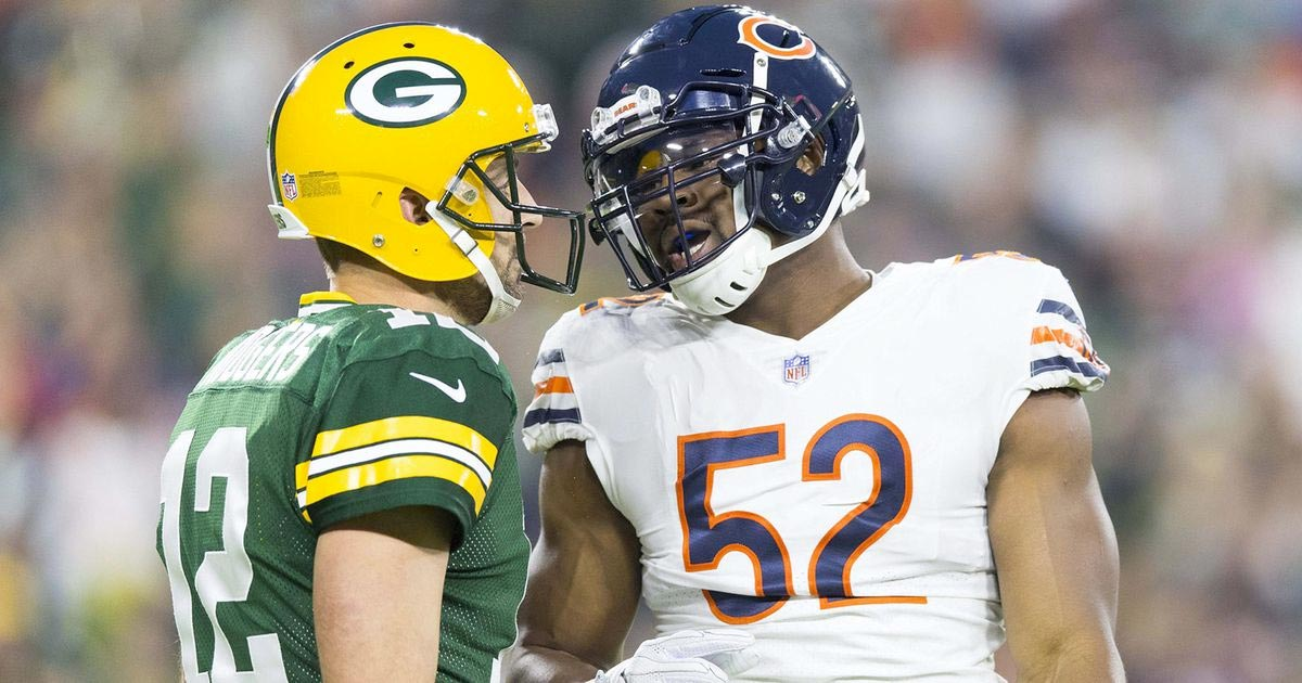 Finally! September is here and real football begins with Bears-Packers