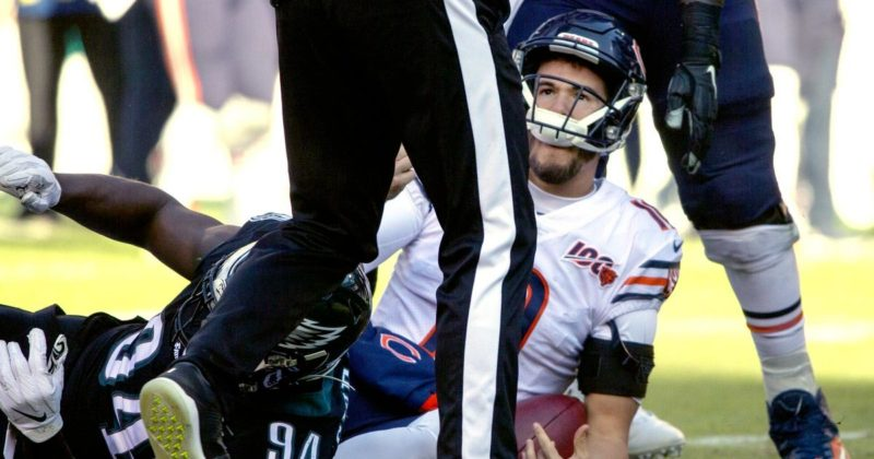 Bears' 2019 regression hits new low in loss to Eagles