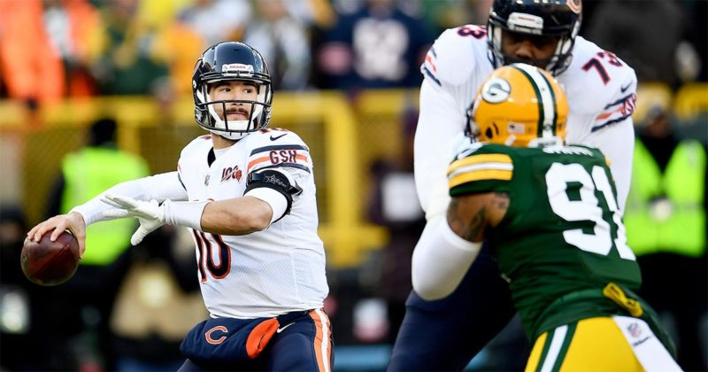 'This is the end': Bears fall to Packers at Lambeau Field