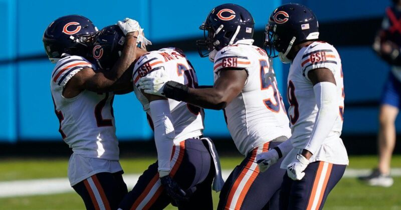 Bears hold off late Panthers push, extend record to 5-1