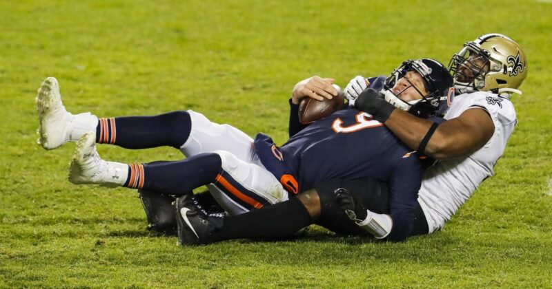 Bears fall to Saints in overtime
