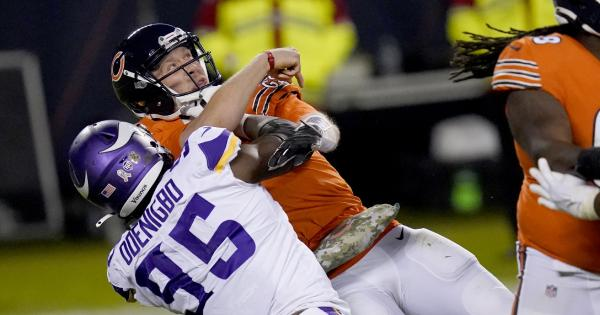 Bears offense flops again in loss to Vikings