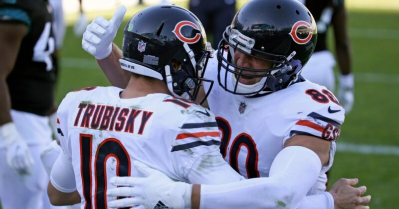 Bears move into seventh seed with drubbing of Jaguars